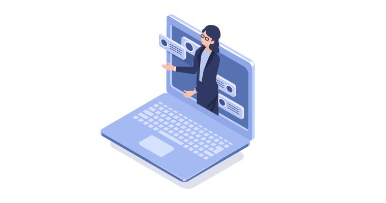 IT環境運用支援イラスト
